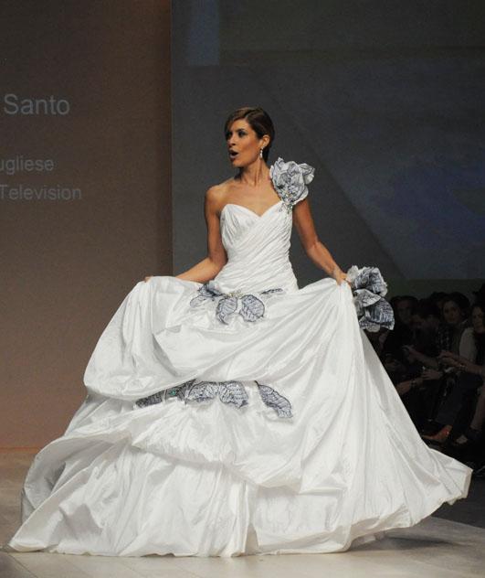 Ines Di Santo worn by TV host Dina Pugliese
