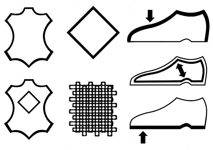 shoe label symbols