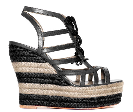 Shoe Trend: Two-Tone Black, Nude & Neutral
