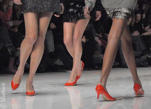joe fresh style fall 2011 orange heels shoetease shoes1 ... and as a special favor to Collette, we have the Anime Bad Boy look.