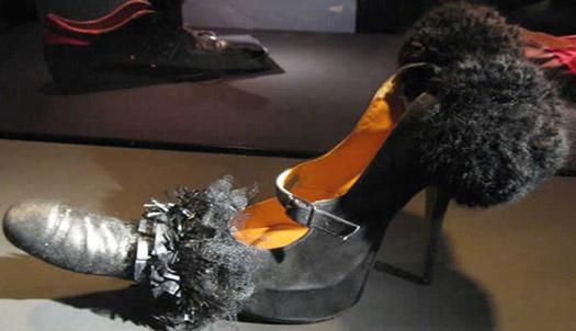 Lady Gaga Penis Shoes on Heels