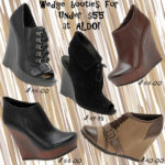 Saturday Shoe Steal – Great Sale Wedge Booties at Aldo!