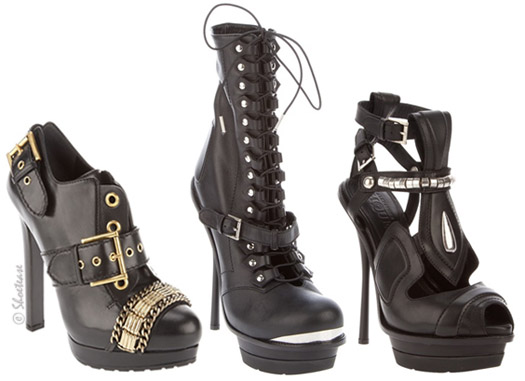 Women's McQueen boots for fall 2011