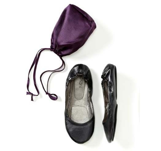 Portable ballerina slippers on sale at Reitmans Canada