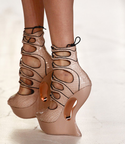 Shoe Trend Alert Space Age Silver For Spring 2012