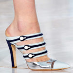 Space-age Silver Shoe Trend for Spring 2012