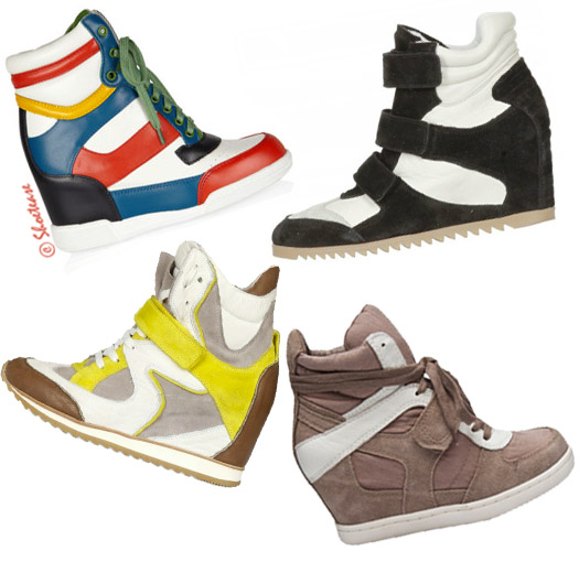 Wedge sneakers trend shoes spring 2012 ash marc jacobs