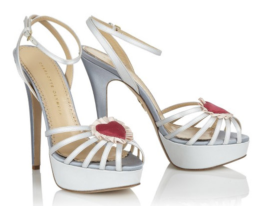 charlotte olympia bridal wedding shoes forever pumps