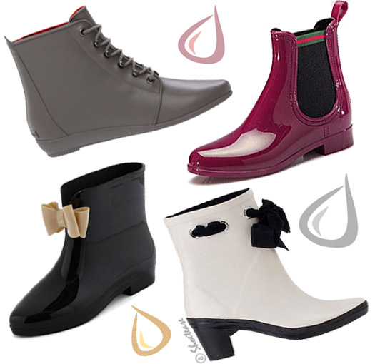 Shoe Trend Alert! Low Rubber Rain Boots to love Spring in!