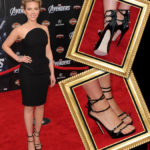 Celebrity Shoe Style – Scarlett Johansson Marvels in Zanotti