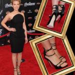Celebrity Shoe Style – Scarlett Johansson Marvels in Zanotti