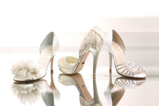 Something Bleu Menbur Caparro Bridal Wedding Shoes Fashion