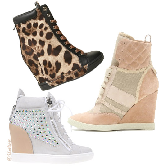 wedge sneakers shoes trend spring 2012 DG Zanotti see chloe