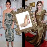 Celebrity Shoe Style – Kristen Stewart & Emmy Rossum in Louboutin