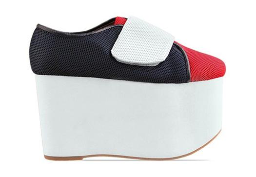 jeffrey campbell flubber ugly shoes platform freak shoetease