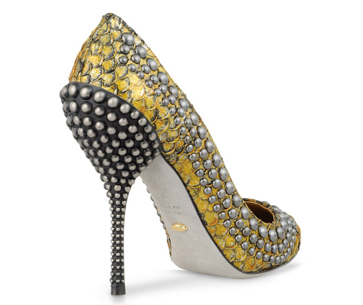 sergio rossi genevieve studded pump shoes fashion fall 2012