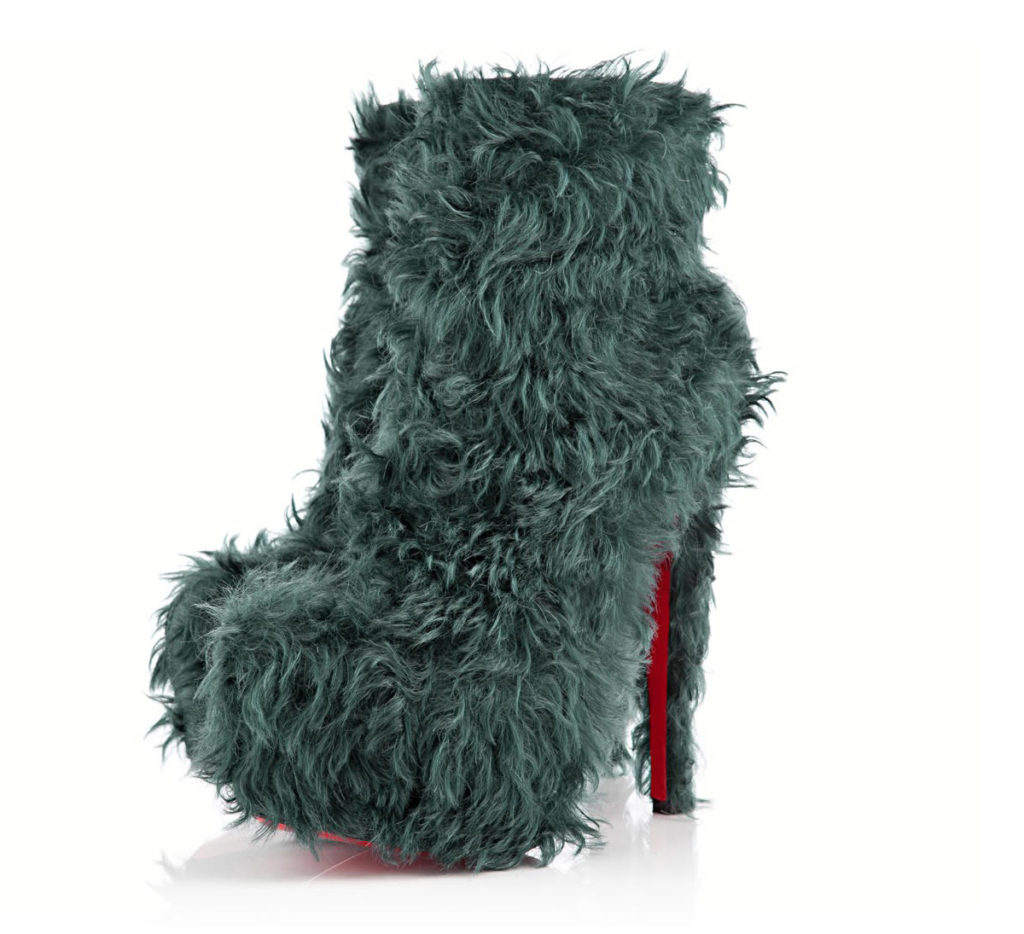 christian louboutin daf bootie boots shoes fashion fall 2012 freaky
