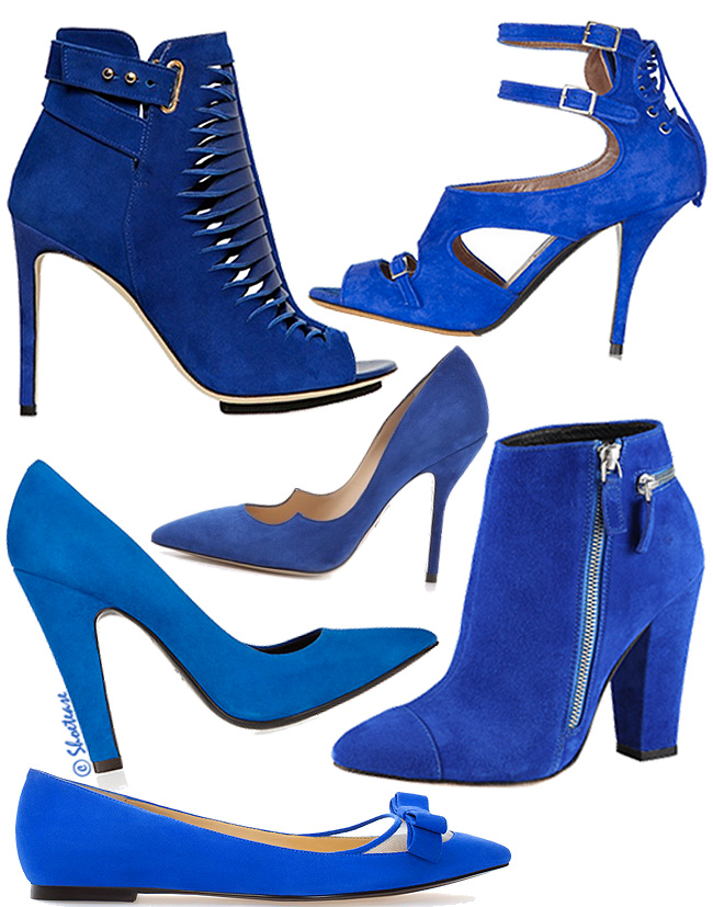 Cobalt Blue Shoes Trend For Fall Shop Cobalt Shoes For Fall 2013