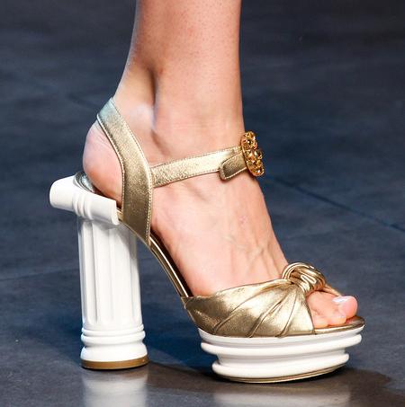 Dolce & Gabbana Women's Shoes From Spring 2013 Milan Runway Дольче Габбана Обувь 2013