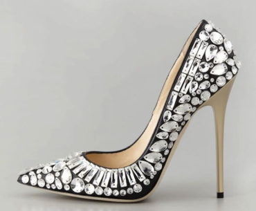 jimmy choo tia pointed crystal embellished pump i want shoe heels obsession