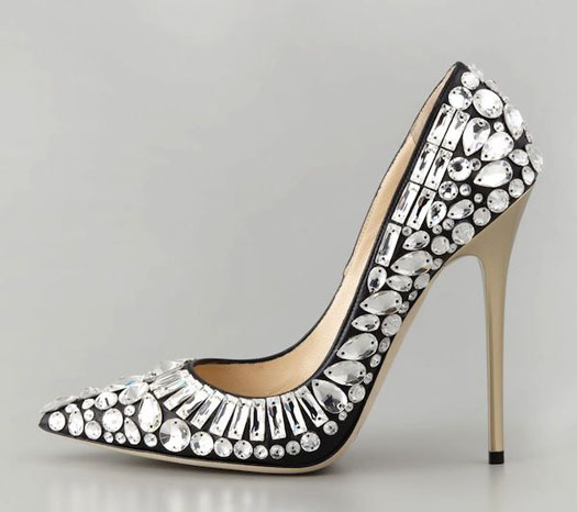 I Want! Obsessed With Jimmy Choo Tia Crystal Embellished