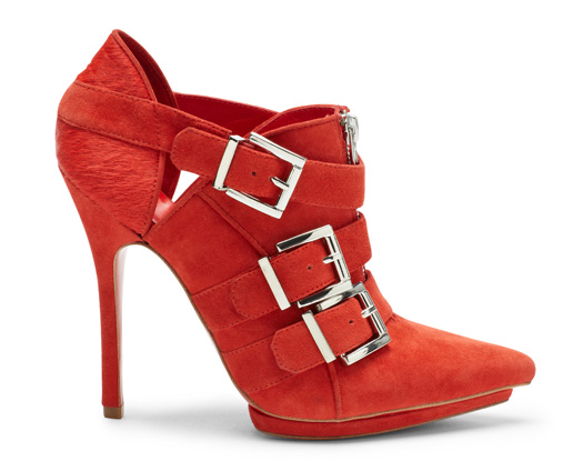 aldo rise preen collaboration fanni red suede boots with buckles i want shoes