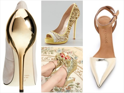 cf1381f30ba ... shoetease best top shoe pins pinterest november metallic gold heels  glitter sparkle holiday christmas new year s
