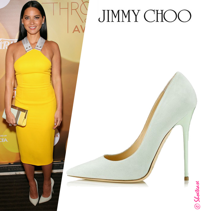 shoes fashion stylish celeb the newsroom yellow stilettos