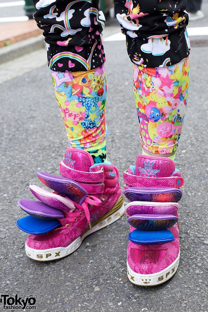 Freak Shoe Friday Multi Tongue Kawaii Sneakers