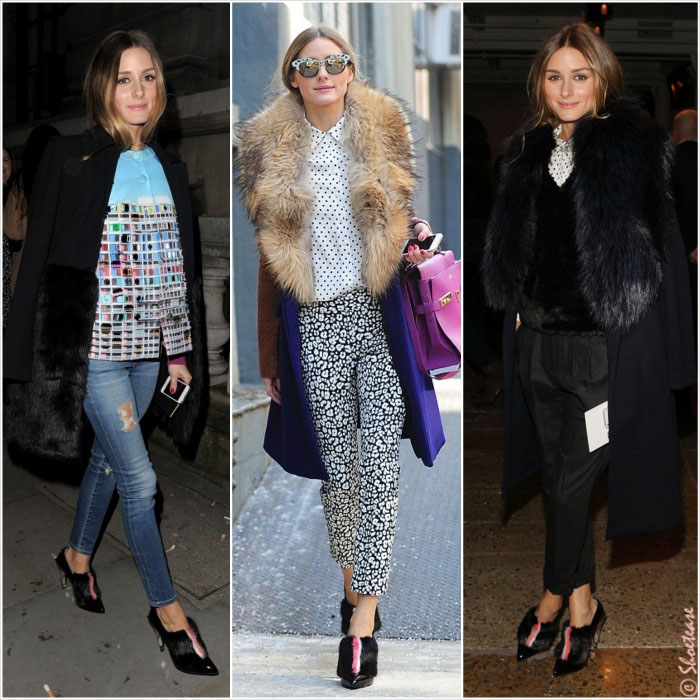 Celebrity Shoe Girl Olivia Palermo In Fendi Brian Atwood