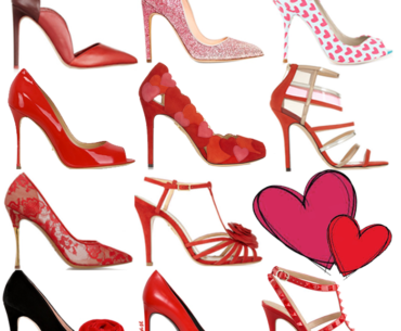 Valentine's day 2014 Red and Pink shoes