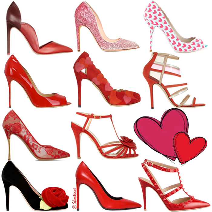 Prettiest Valentine's Day Shoes