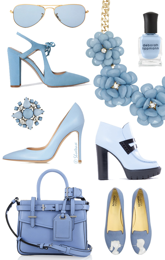 Spring 2014 Powder Blue Fashion Trend