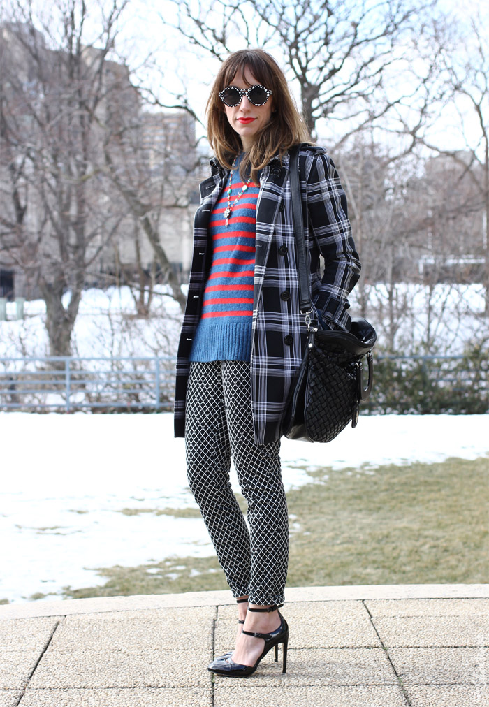 Plaid Trench, Bright Stripes, Prints & Peter Pilotto for Target Sunglasses