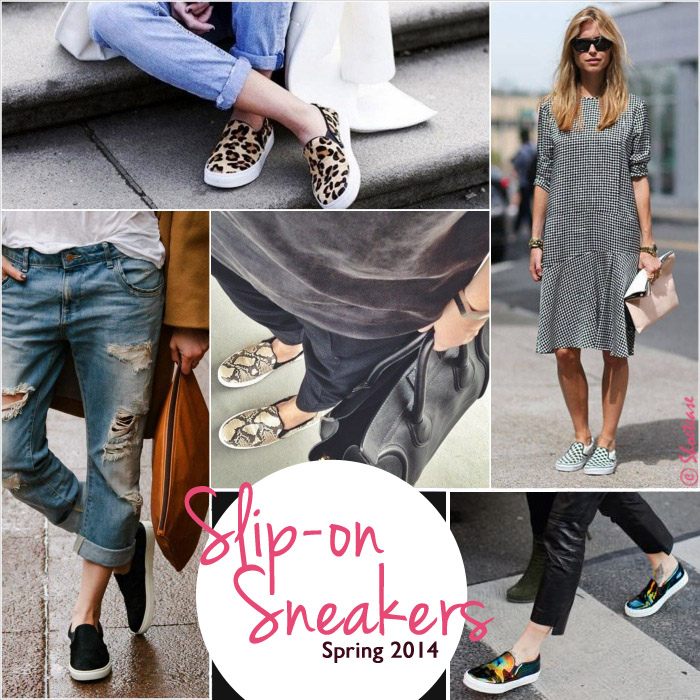 style trending shoes slip on sneakers for 2014