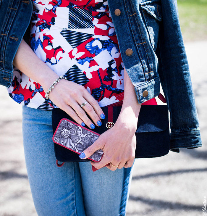 Toronto Street Style - Floral Speck Phone Case