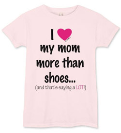 Show your mother you adore her this Mother's Day more than footwear!