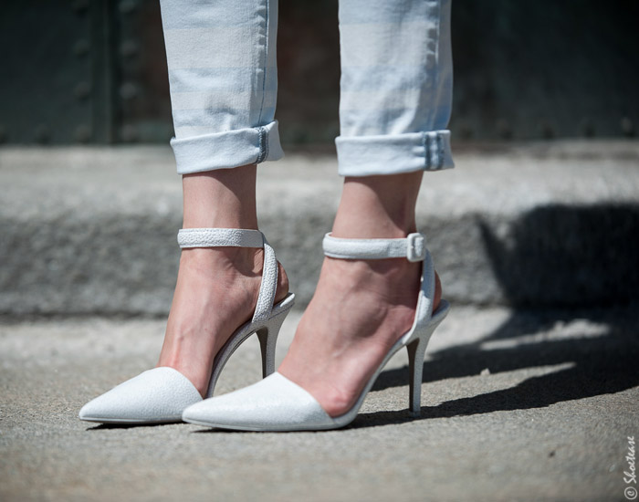 Alexander Wang Ankle Strap High Heels