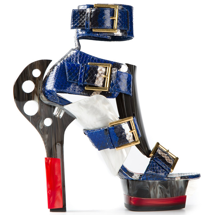 Ugly Shoes - Sandal from McQueen's Spring Collection