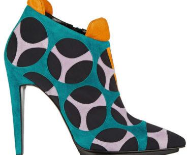 Pierre Hardy Multicolored Neoprene Ankle Boot