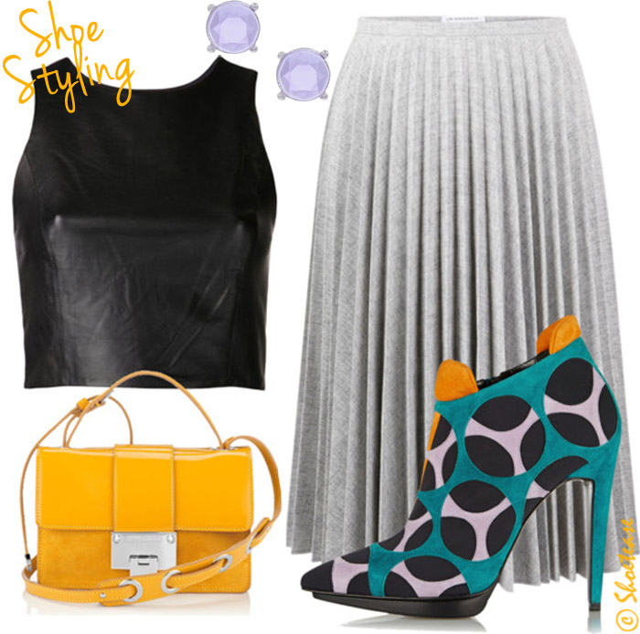 Outfit Collage with Pierre Hardy Ankle Boots