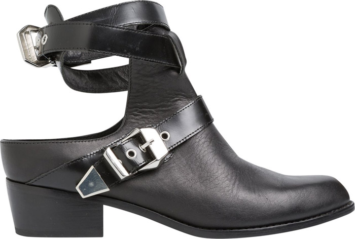Womens Sol Sana ankle boots with cut outs for Fall 2014
