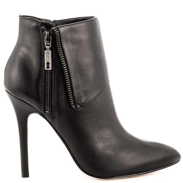 Womens stiletto ankle boots in black for Fall 2014 by Ivanka Trump