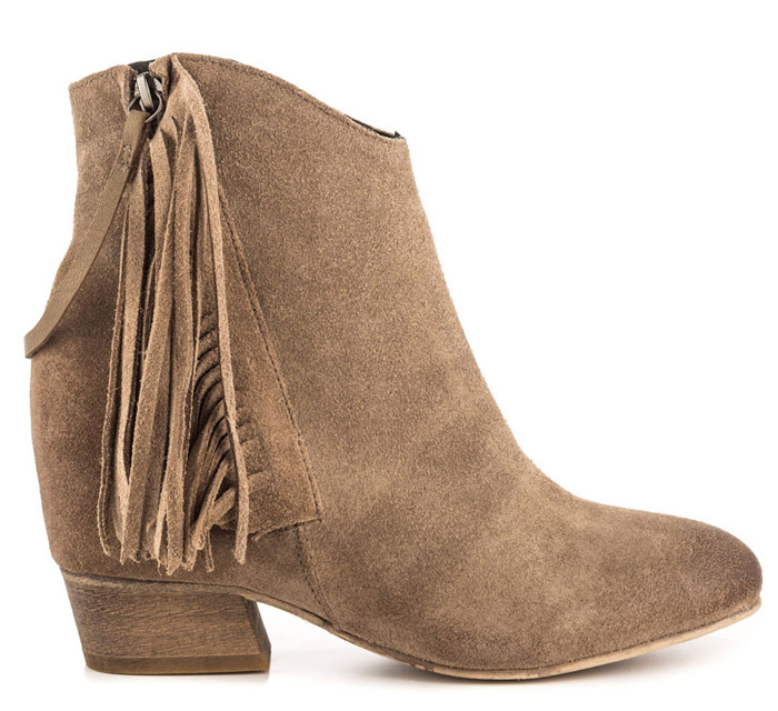 Womens Fringe Ankle Boots for fall 2014 by Matiko