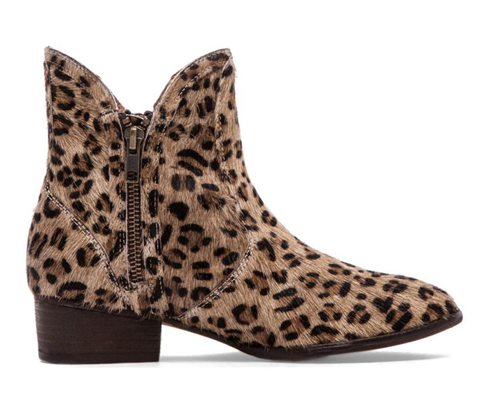 Womens Leopard Print Ankle Boots for fall 2014 by Seychelles