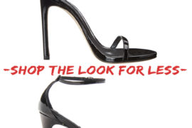 Stuart Weitzman's Nudist Sandal for Less