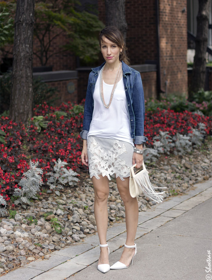 brave skirt outfit with white shoes 9