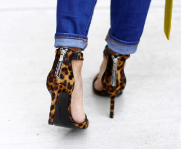 Womens Nine West Leopard Print Shoes for Fall 2014