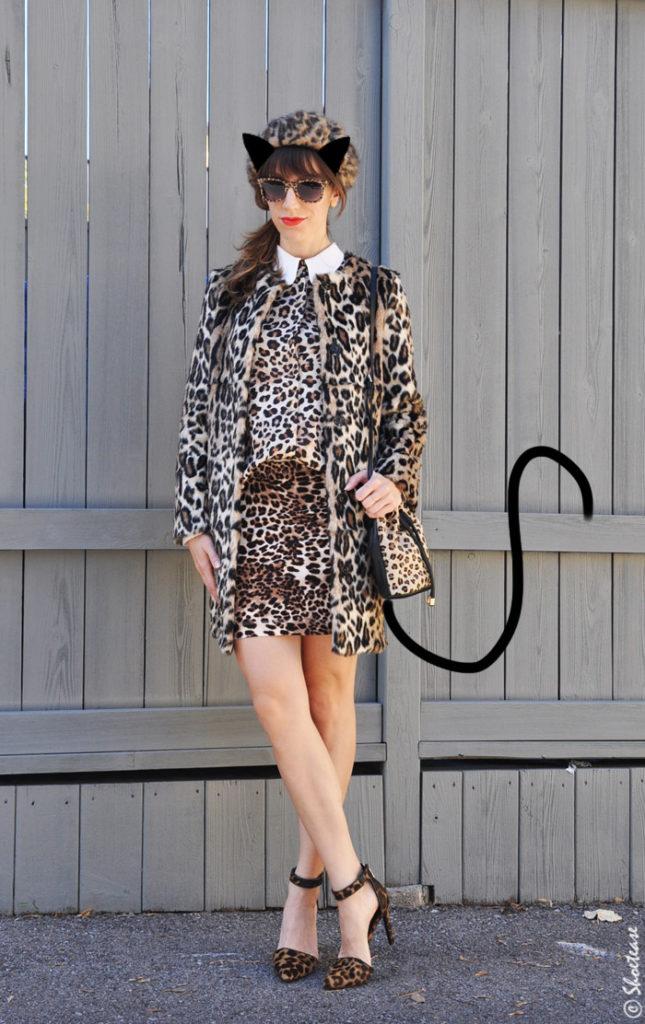 Leopard print Shoes Halloween outift