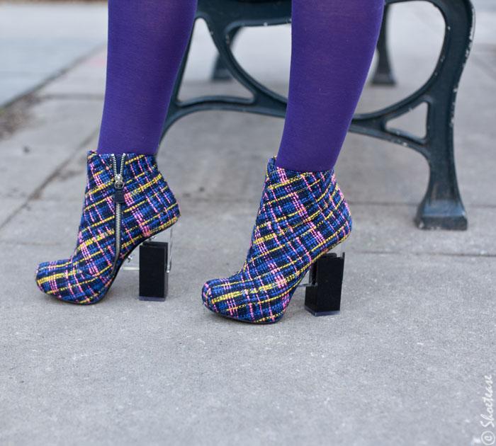 Shoes of Toronto Fashion Week - Chunky Heels